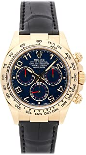 Rolex Daytona Mechanical (Automatic) Blue Dial Mens Watch 116518 (Certified Pre-Owned)