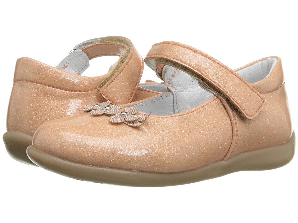 Kid Express Lilibeth (Toddler/Little Kid) (Peach Glitter Patent) Girl