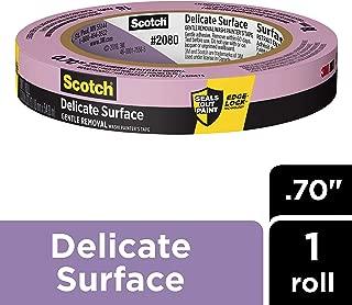 Scotch Painter's Tape 2080-18A Delicate Surface Painters Tape, 0.70