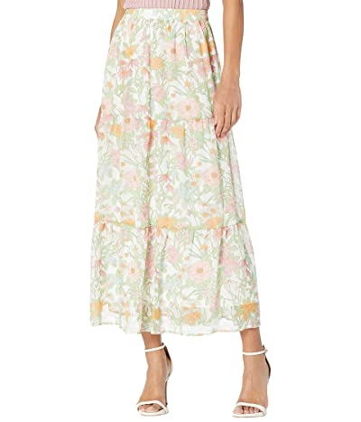 Vince Camuto Tiered Ruffled Verona Garden Skirt