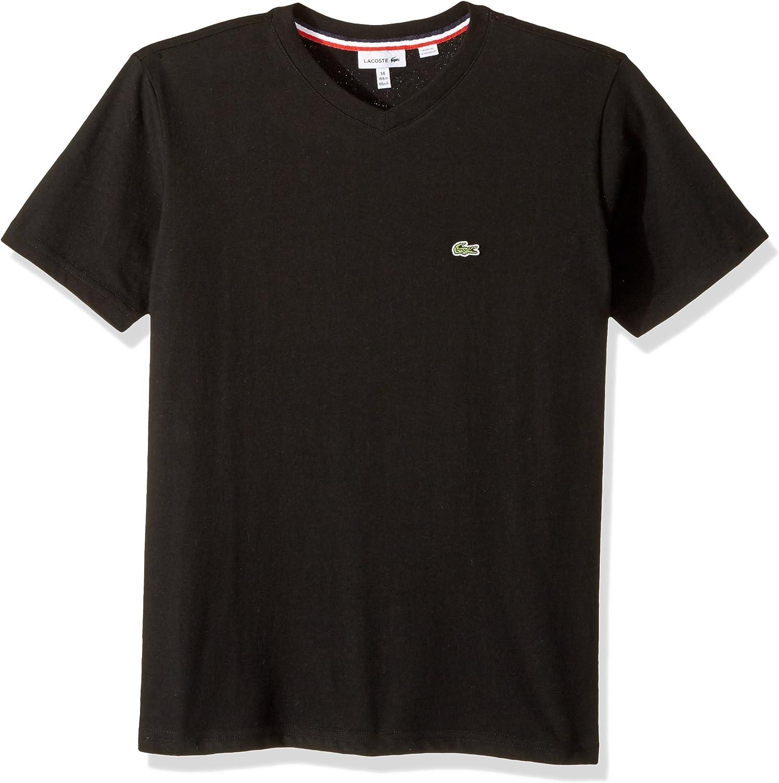 Lacoste Boys V-Neck Cotton T-Shirt