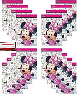 Minnie Mouse 16 Pack Party Plastic Loot Treat Candy Favor Bags (Plus Party Planning Checklist by Mikes Super Store)