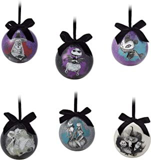 Disney Tim Burton's The Nightmare Before Christmas Ball Ornament Set