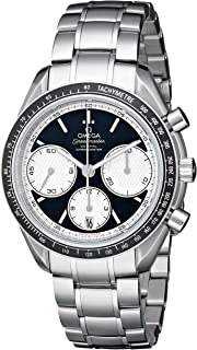 Omega Men's 326.30.40.50.01.002 Speed Master Racing Analog Display Swiss Automatic Silver Watch