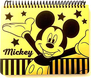 Emerald Mickey Mouse Large Spiral Autograph Book - Gold (Large) (Mickey)
