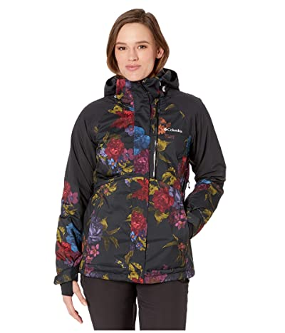 Columbia Wildsidetm Jacket (Black Floral Print/Black) Women