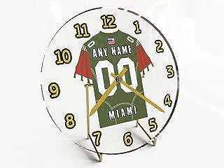 FanPlastic Acc Atlantic Coast Conference College Football - Personalized Desktop Clocks - Size 7