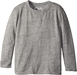 Chaser Kids - Super Soft Long Sleeve Crew Neck Tee (Toddler/Little Kids)