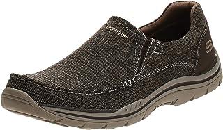 حذاء منخفض اكسبكتد افيلو للرجال بتصميم مريح بدون رباط من سكيتشرز