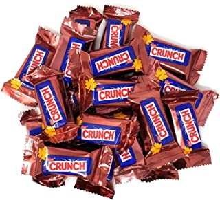 CrazyOutlet Pack - Nestle Crunch Fun Size Chocolate Candy Bars, Halloween Edition, Bulk pack, 2 lbs