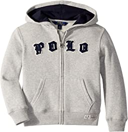 Cotton-Blend Fleece Hoodie (Little Kids/Big Kids)