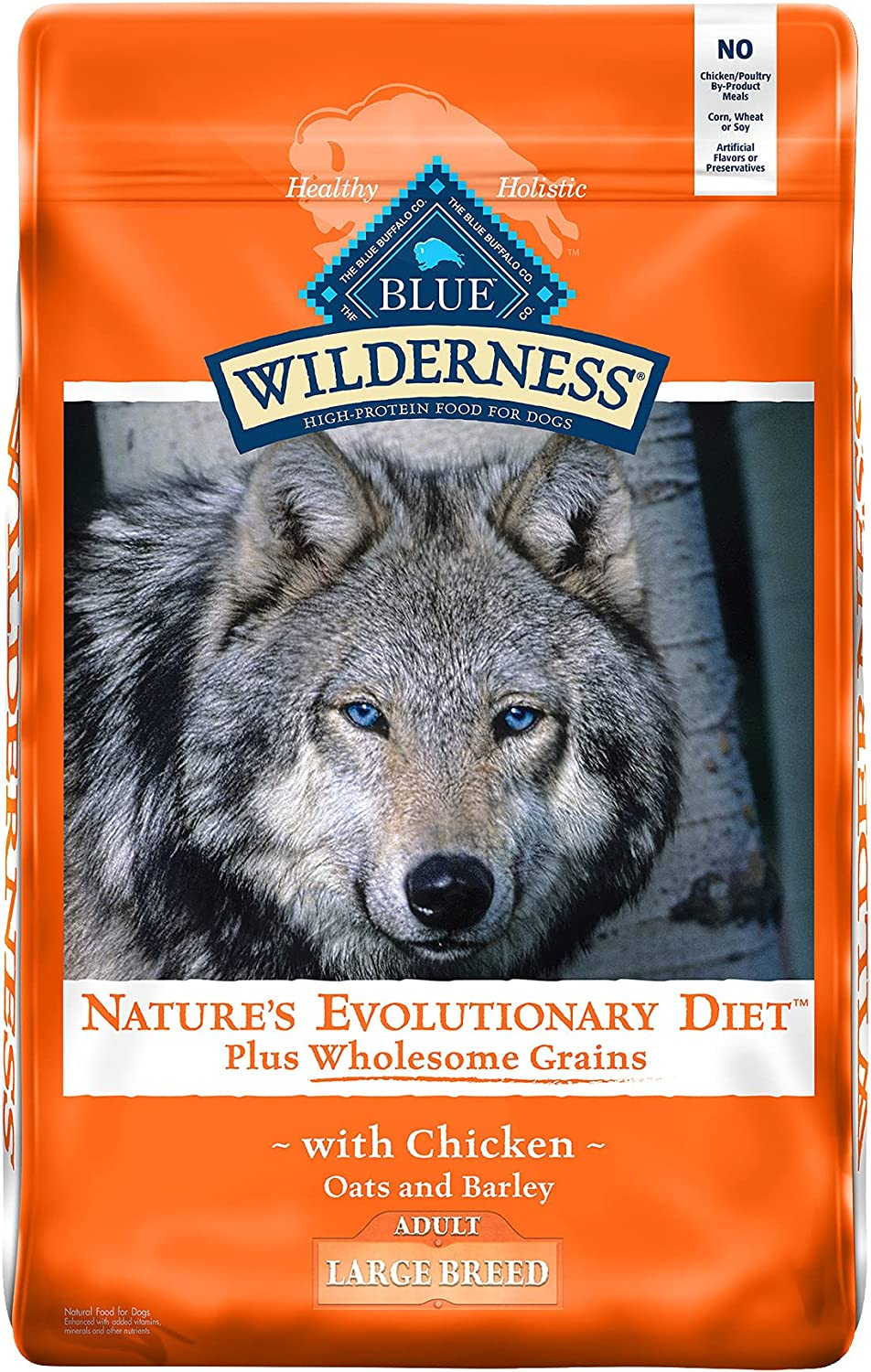 Blue Buffalo Wilderness Genuine High Protein Natural Large Surprise price Adult Breed