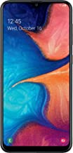 Simple Mobile Samsung Galaxy A20 4G LTE Prepaid Smartphone (Locked) - Black - 32GB - SIM Card Included - GSM