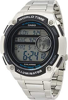 Casio for Men - Casual Stainless Steel Watch - AE-3000WD-1AV