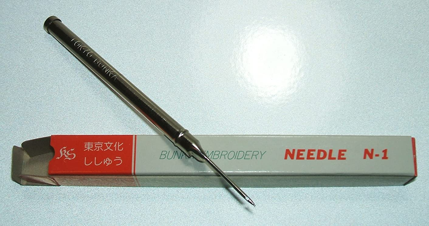 Japanese Tokyo Bunka Shishu Embroidery N-1 Punch Needle Tool