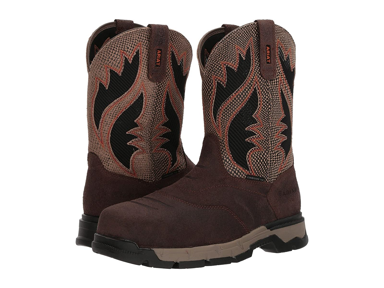 Ariat Rebar Flex Western Venttek Composite ToeSelling fashionable and eye-catching shoes