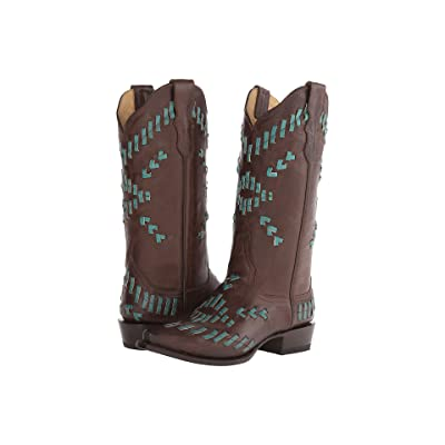 Stetson Madeline (Turquoise Leather Lace Weave) Women