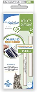Sponsored Ad - Four Paws Magic Coat Cat Hairball Brush Control Strips Refills, 2 Pack