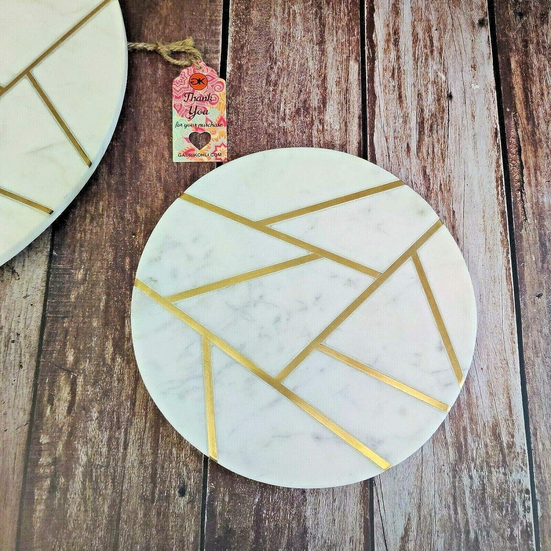 GAURI KOHLI 全店販売中 ご予約品 Infinia Marble Cheese Board 10