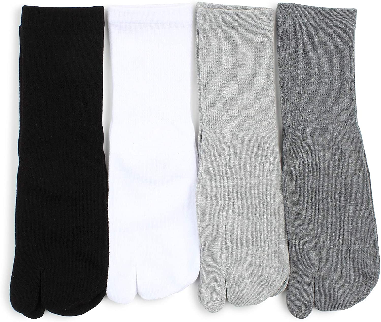 Women Tabi Geta socks japanese style low cut crew socks