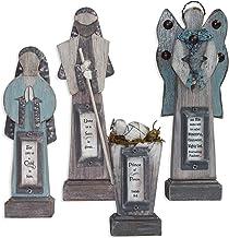 Enesco Reason to Rejoice by Gregg Gift Wood 4 Pc Nativity