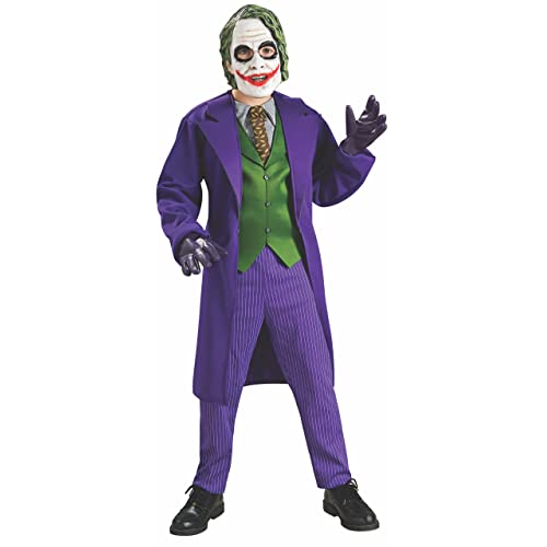 Superior Rubieu0027s Official Deluxe Joker, Child Costume   Medium