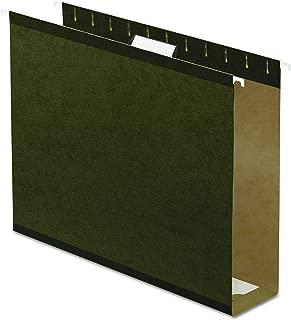 Pendaflex 04152X3 Extra Capacity Reinforced Hanging File Folders, 3