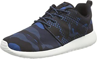 Nike 655206-404 Men Roshe ONE Print Brigade Blue/Squadron Blue