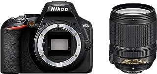 Nikon D3500 + AF-S DX 18–140 VR Juego de cámara SLR 242 MP CMOS 6000 x 4000 Pixeles Negro - Cámara digital (242 MP 6000 x 4000 Pixeles CMOS Full HD 365 g Negro)