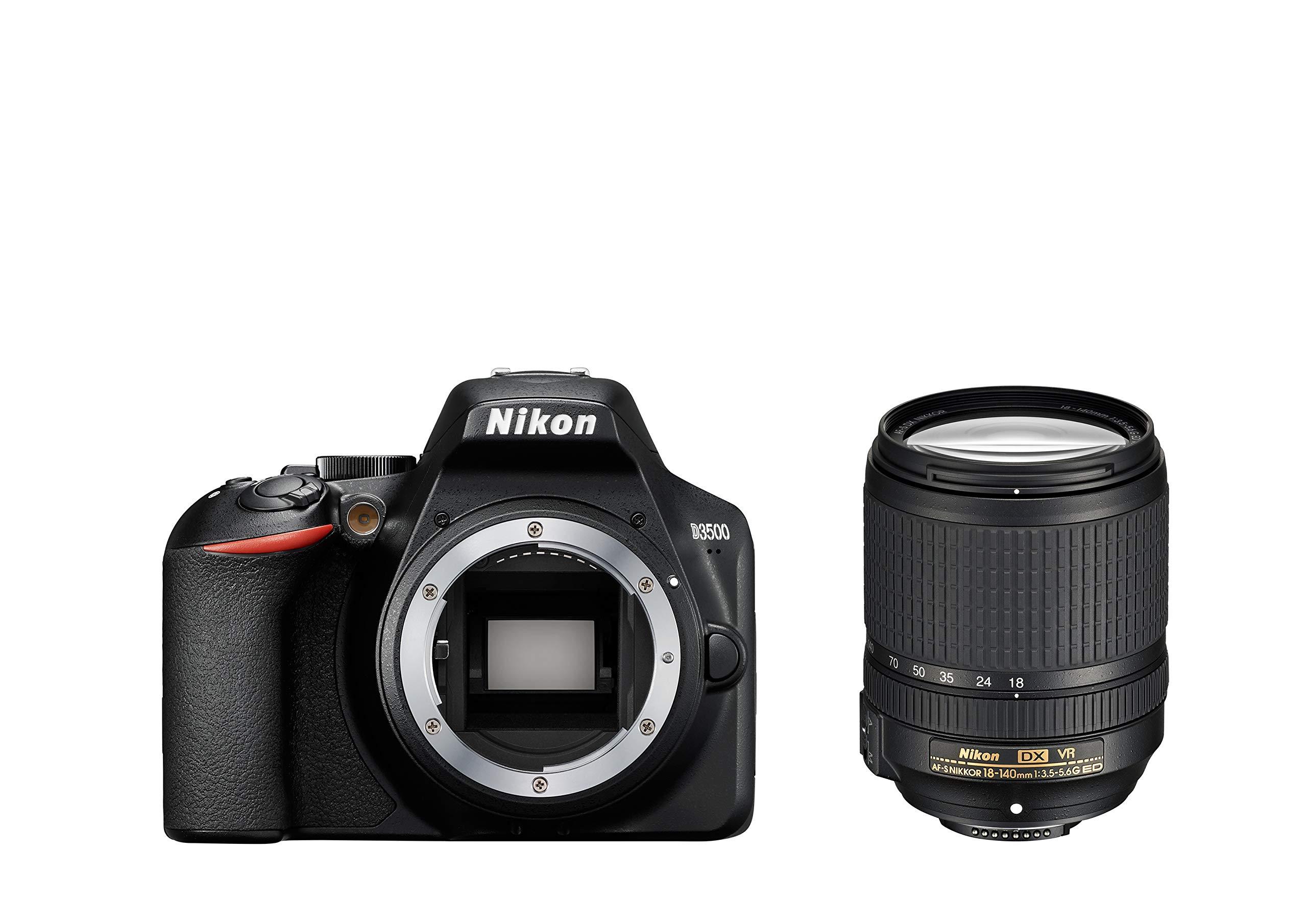 Nikon D3500 + AF-S DX 18–140 VR Juego de cámara SLR 24,2 MP CMOS ...