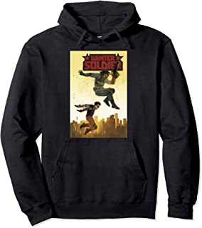 Comixology Winter Soldier 3 Of 5 Comic Book Cover Pullover Hoodie