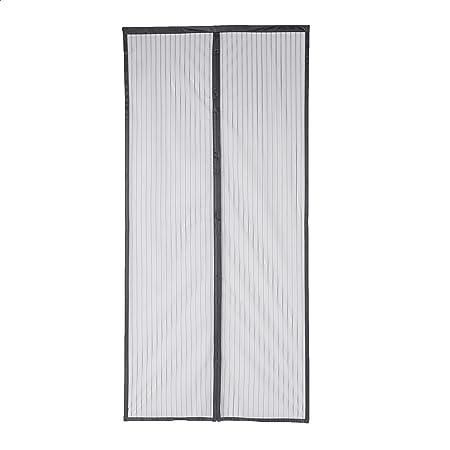 Amazon Basics AB-SD100, Black Magnetic Screen Door-38-Inch x 82-Inch, 38 x 82