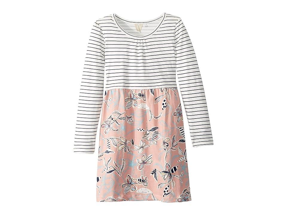 Roxy Kids Meet An Angel Dress (Toddler/Little Kids/Big Kids) (Coral Almond Trellis Climb) Girl