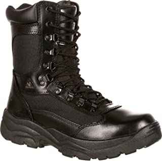 Rocky Fort Hood Zipper Waterproof Duty Boot