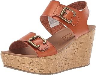 Skechers Women's Brit-High-Wedge Quarter Strap Sandal