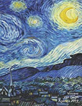 Vincent Van Gogh Agenda 2019: Agenda settimanale con calendario 2019   La Notte Stellata   1 Settimana per Pagina   Da Gennaio a Dicembre 2019 (Agenda Giornaliera) (Italian Edition)