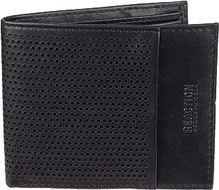 Men's RFID Security Blocking Slimfold Wallet, black, One Size