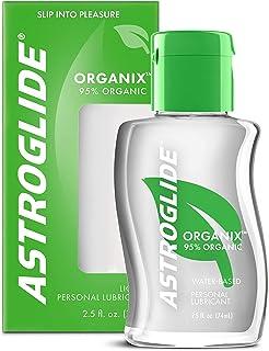 Astroglide Organix Liquid, Water Based Personal Lubricant, 2.5 oz.