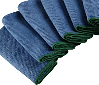 WypAll Cleaning Premium Microfiber Cloth, High Absorbency, Dust and Lint free cleaning, Pack of 6 Cloths, Blue, 83620