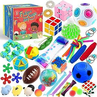 Sensory Toys Set 38 Pack, Stress Relief Fidget Hand Toys...