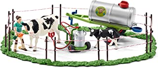Schleich North America Cow Family On The Pasture Toy Figure