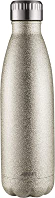 Avanti Hydration BottleFluid Vacuum Bottle, Glitter Champagne, 12166