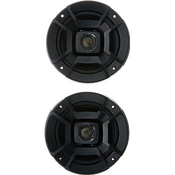 "Polk Audio DB522 DB+ Series 5.25"" Coaxial Speakers with Marine Certification, Black"
