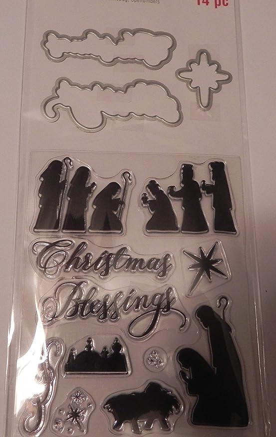 Recollections Christmas Stamp & Die Set, Wisemen