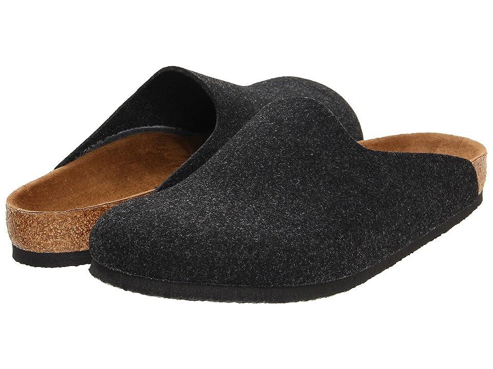 Birkenstock Amsterdam (Anthracite Wool Felt) Clog Shoes