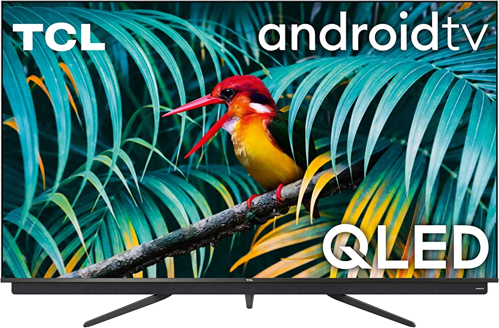 Tcl qled tv, 4k ultra hd, smart tv con android 9.0 (dolby vision – atmos, sistema audio onkyo,55 pollici