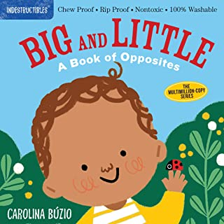 Indestructibles: Big and Little: Chew Proof · Rip Proof · Nontoxic · 100% Washable (Book for Babies, Newborn Books, Safe t...