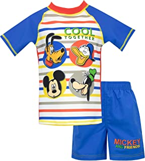 Disney Boys Mickey Mouse Swim Set