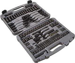 Stanley 92-839 Black Chrome and Laser Etched Socket Set, 99-Piece
