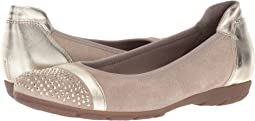 Taupe Velour/Luxor Metallic